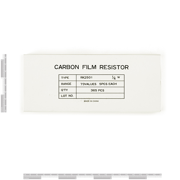 Resistor Kit - 1/4W