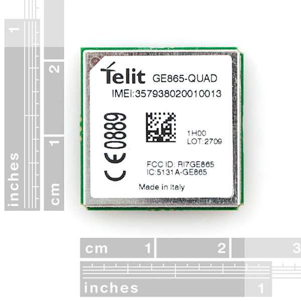 GE865-QUAD Cellular Module
