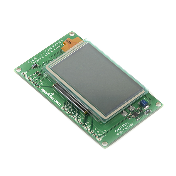Graphic LCD CFAX Carrier Board