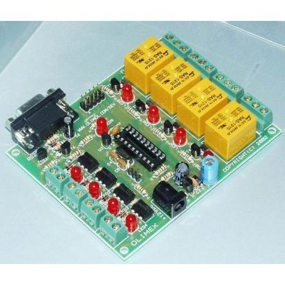 20 Pin AVR Relay Development Board