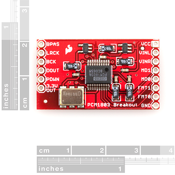 SparkFun Analog to Digital Stereo Converter Breakout - PCM1803A