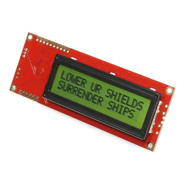Serial Enabled LCD