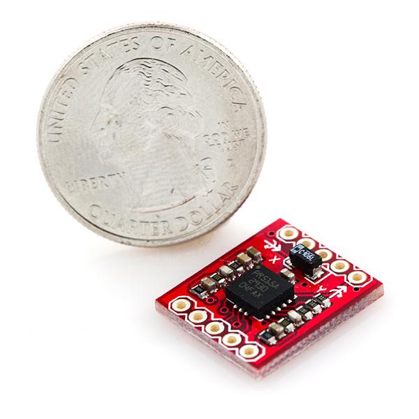 Gyro Breakout Board - LPR5150AL Dual 1500°/s