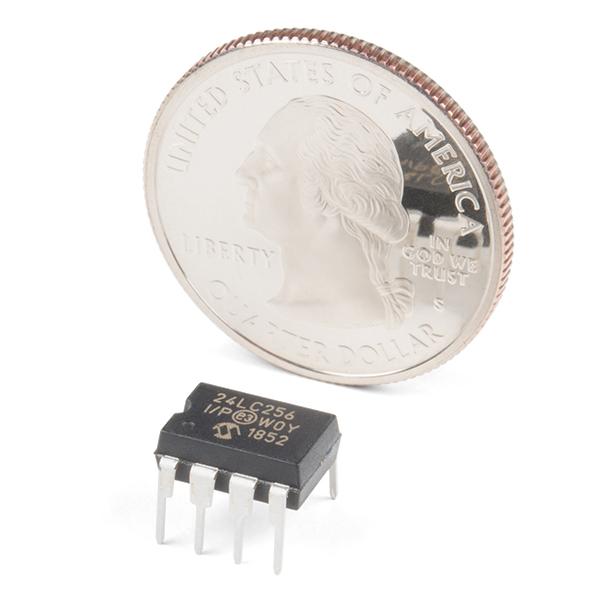 I2C EEPROM - 256k Bit (24LC256)