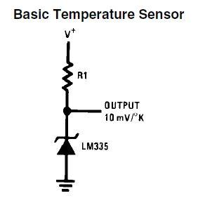 Temperature Sensor - LM335A