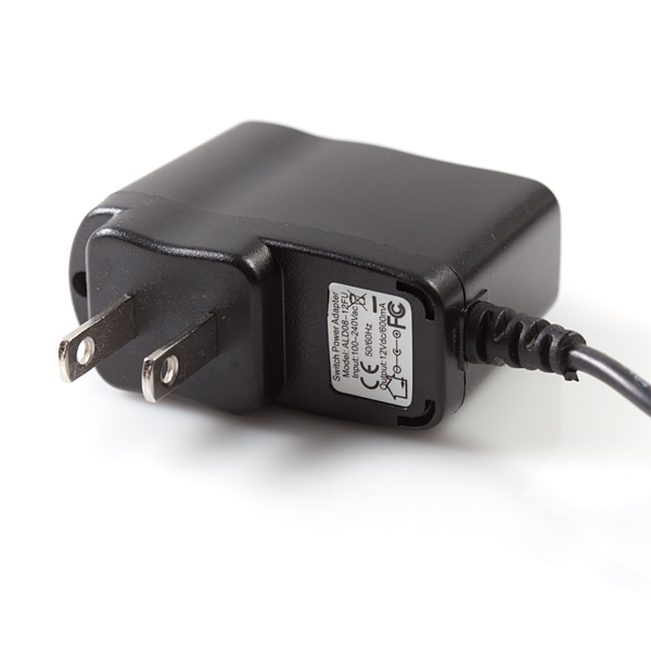 Wall Adapter Power Supply - 12VDC 600mA