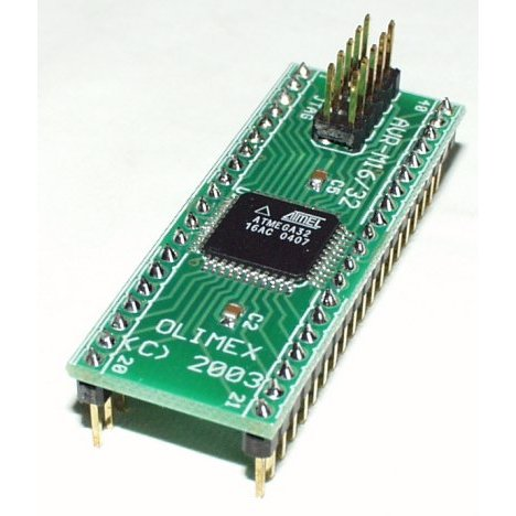 Header Board for ATMega32