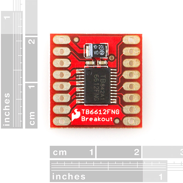 SparkFun Motor Driver - Dual TB6612FNG (1A)