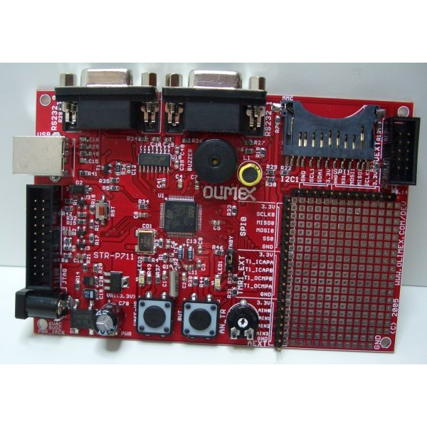 Development Board STR711 ARM