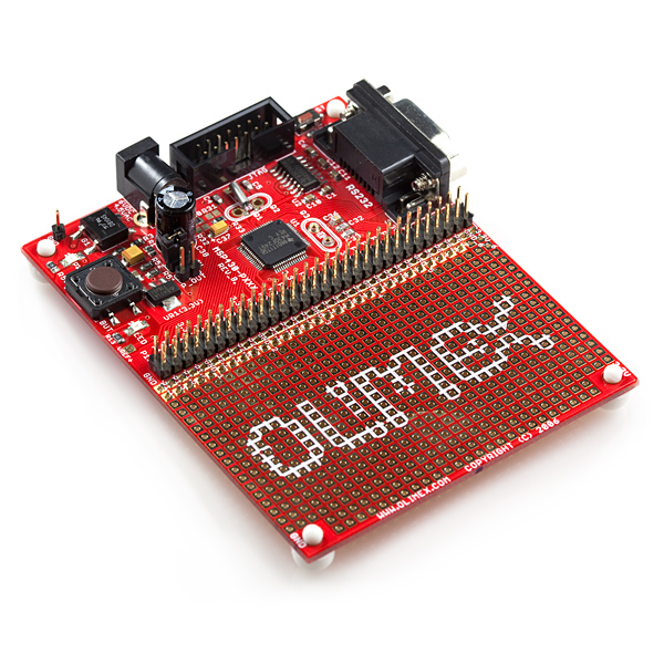 Prototype Board for MSP430F249