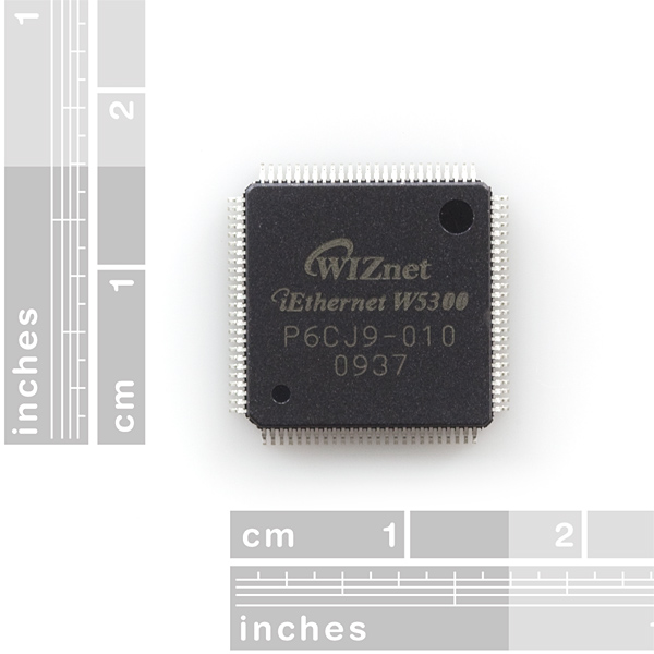 TCP/IP PHY Embedded Chip (High Performance) - WIZnet W5300