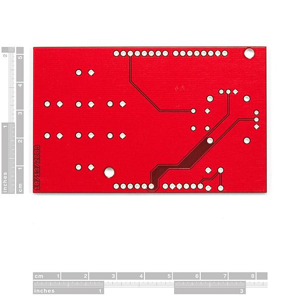 Joystick Shield PCB