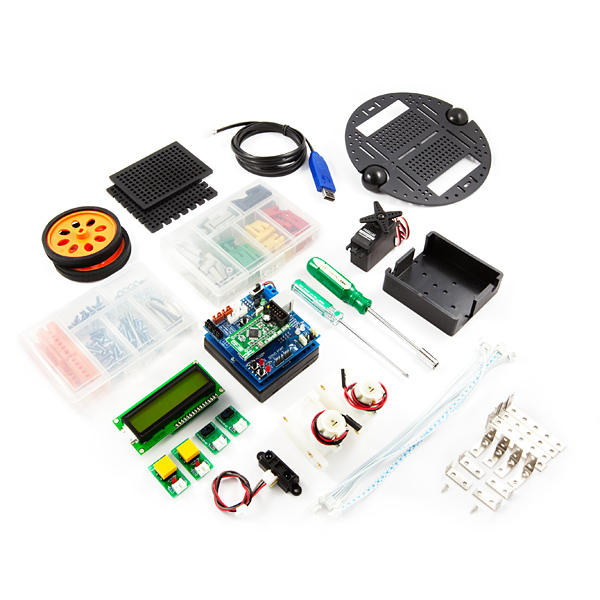 Robotics Kit - POP-BOT (ATmega168)