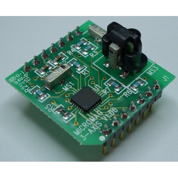 MicroMag 3-Axis Magnetometer Eval Kit