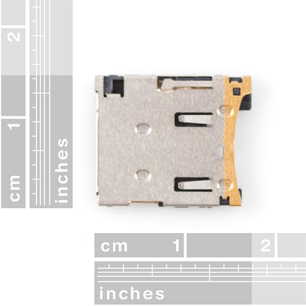 microSD Socket - Style 2