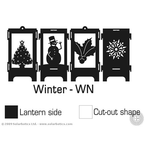 PumLantern Kit - Black Winter