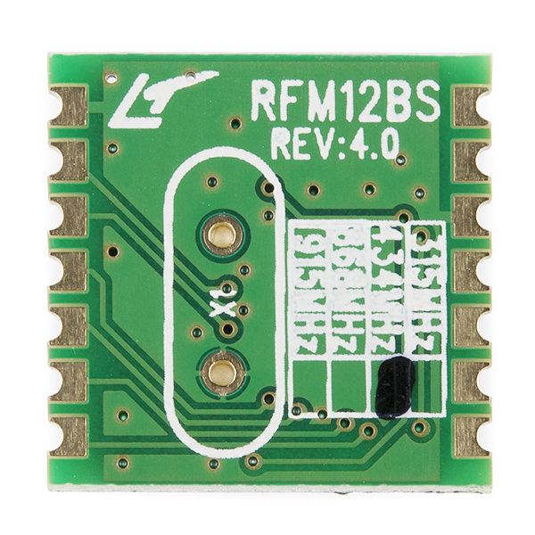 RFM12B-S2 Wireless Transceiver - 434MHz