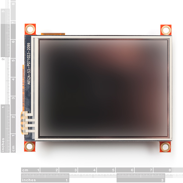 "Serial TFT LCD 3.2"" with Touchscreen"