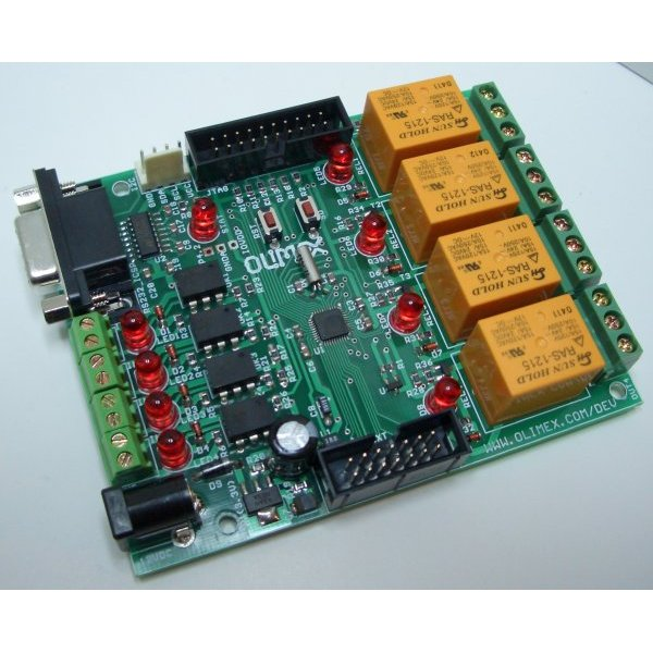 Relay Board ADuC7020 ARM