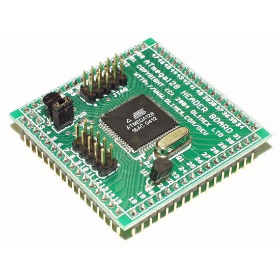Header Board for ATMega128