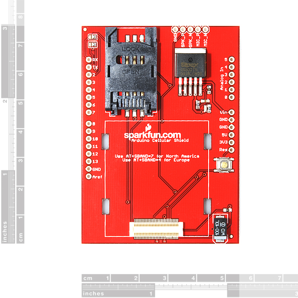 SparkFun Cellular Shield - SM5100B