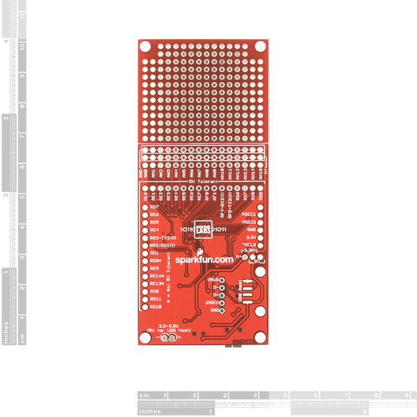 CUI32 PIC32MX Development Stick