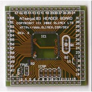 ATMega128/103 Bare PCB
