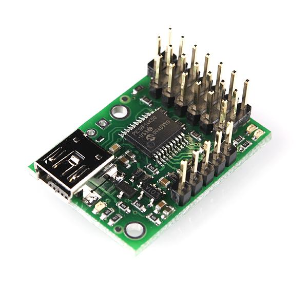 Micro Maestro 6-channel USB Servo Controller
