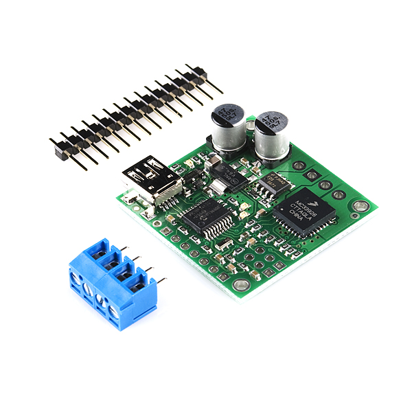 USB Motor Controller with Feedback - Jrk 21v3