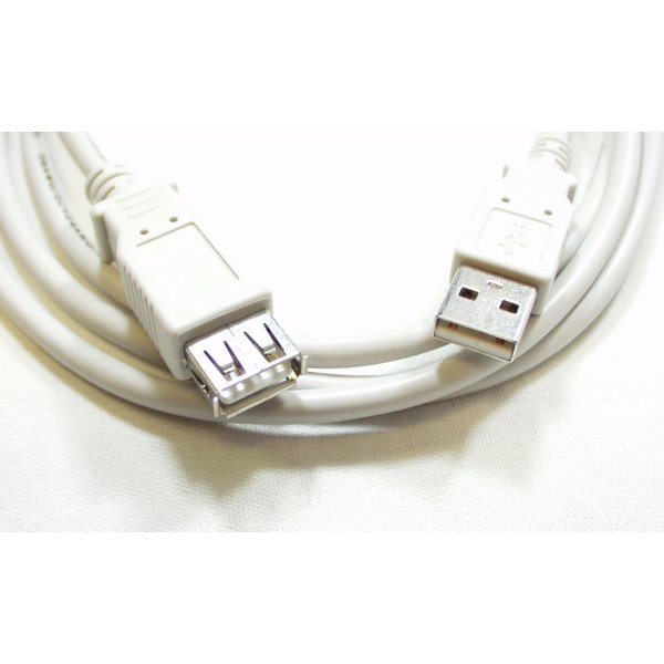 USB Cable Extension - 10 Foot