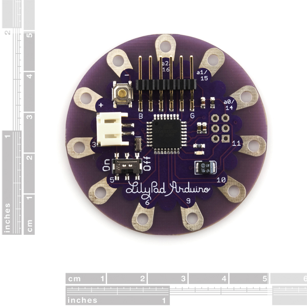 LilyPad Arduino Simple Board (Old-School)