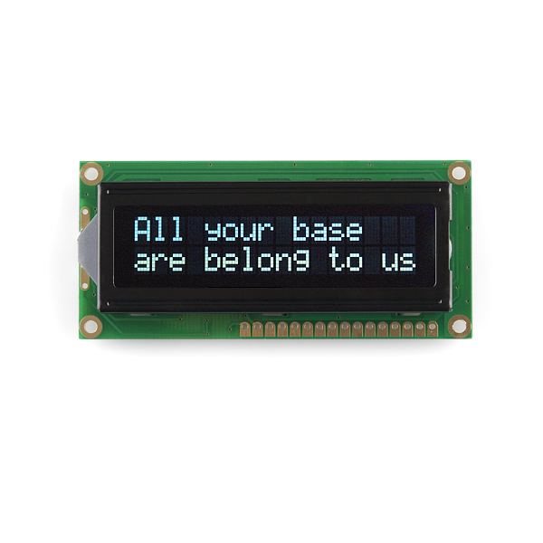 16x2 Parallel LCD Add-On