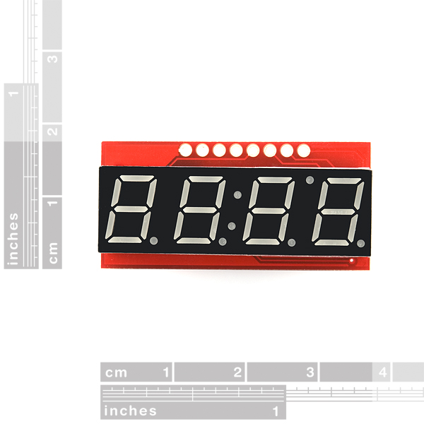 7-Segment Serial Display - Blue
