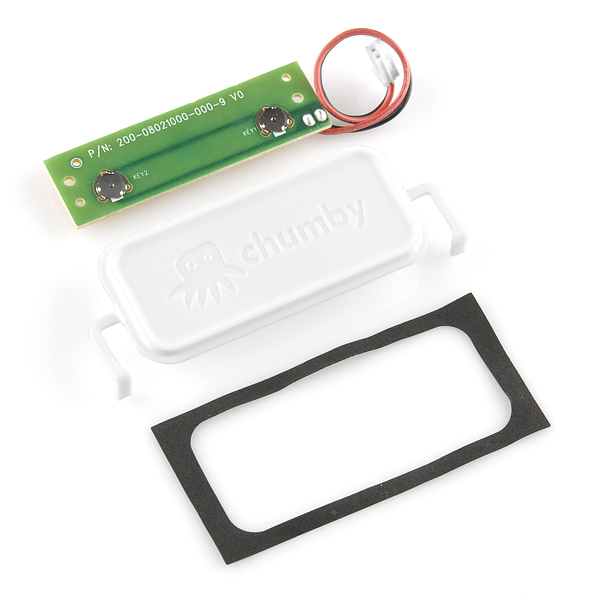 Chumby Parts - Top Button and Bezel (refurbished)