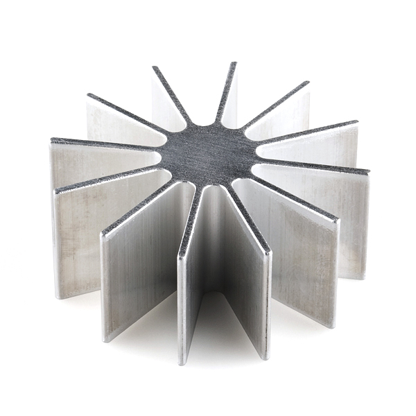 Heat Sink with Fins