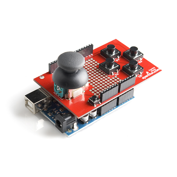 SparkFun Joystick Shield - Bare PCB