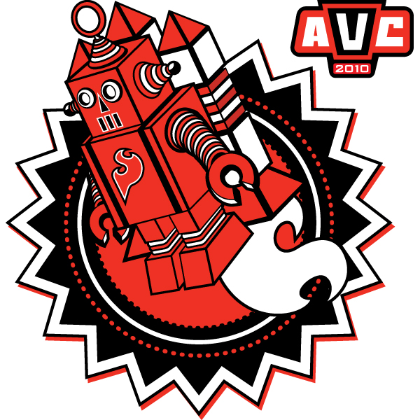 AVC 2010 Rocket Bot T-Shirt - Medium