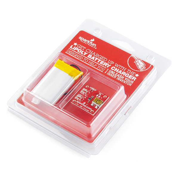 Lithium Polymer USB Charger and Battery - Retail