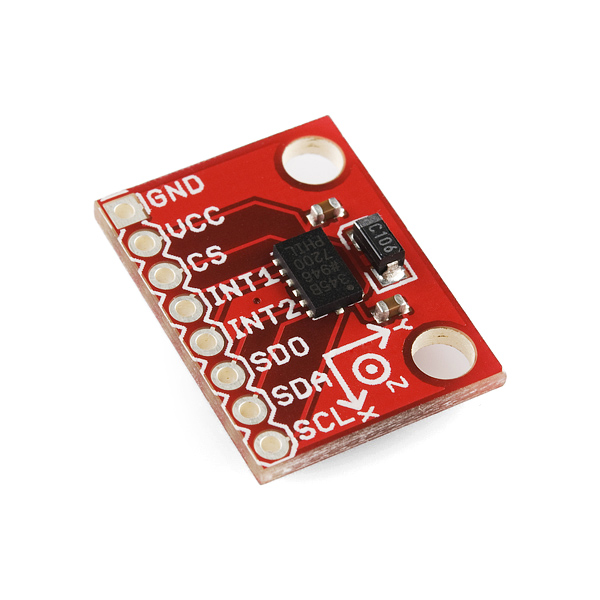Triple Axis Accelerometer Breakout - ADXL345 Retail