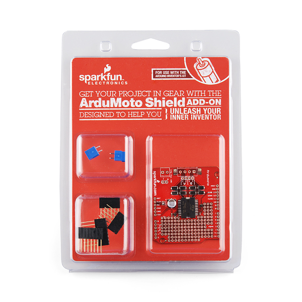 Ardumoto - Motor Driver Shield Retail