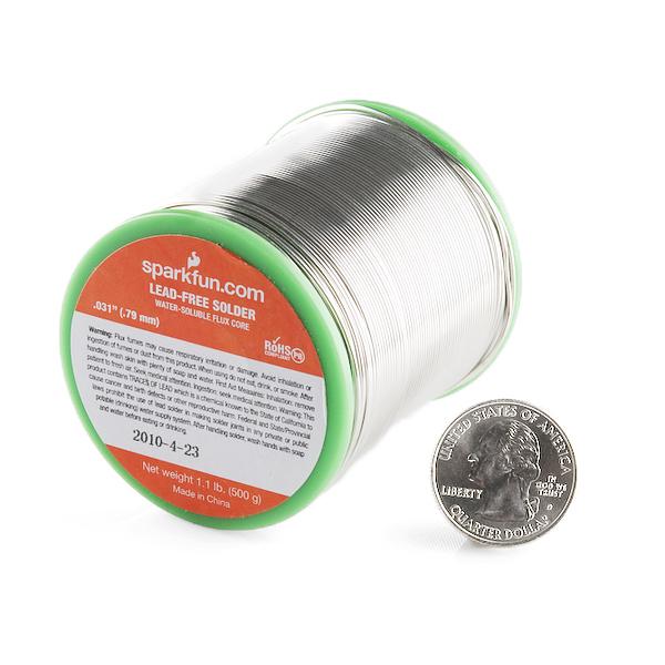 "Solder - 1.1lb Spool (0.032"") Special Blend"