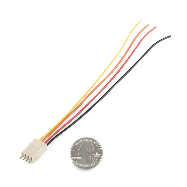 Molex Jumper 4 Wire Assembly