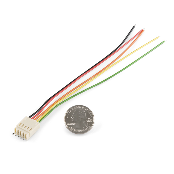 Molex Jumper 5 Wire Assembly