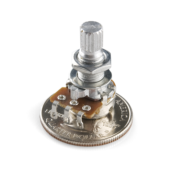 Rotary Potentiometer - 10k Ohm, Linear