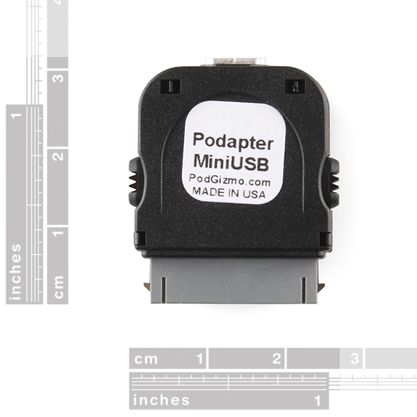 Podapter - Mini-B USB to iPod (Black)