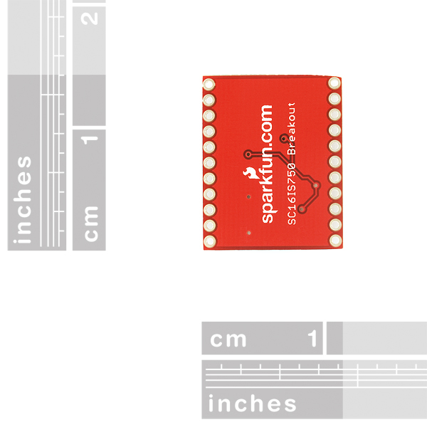 SparkFun I2C/SPI-to-UART Breakout - SC16IS750