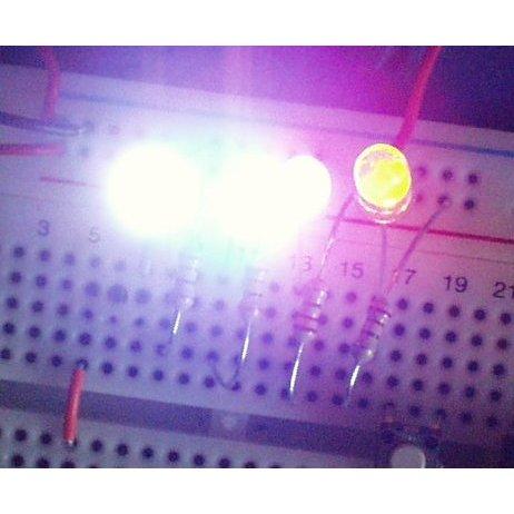LED - Super Bright Green (100 pack)