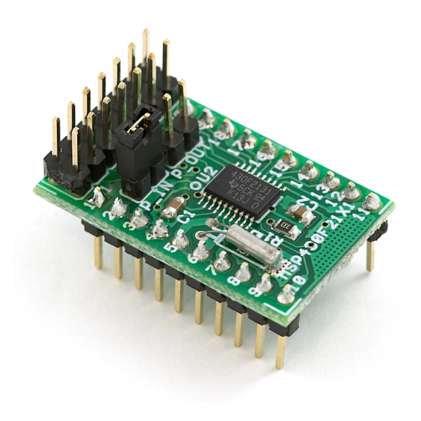 Header Board for MSP430F2131