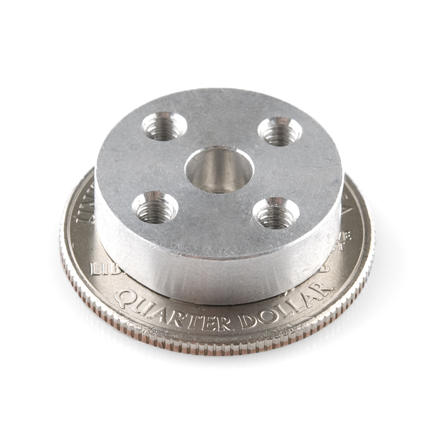 Universal Mounting Hub - 5mm Aluminum