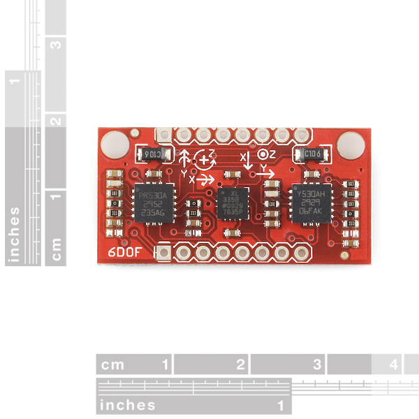IMU Analog Combo Board Razor - 6DOF Ultra-Thin IMU